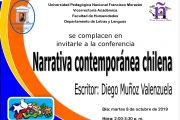 CONFERENCIA NARRATIVA CONTEMPORÁNEA CHILENA