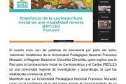 LANZAN CURSO DE ENSEÑANZA DE LECTOESCRITURA INICIAL