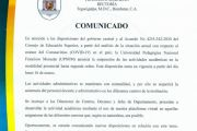 COMUNICADO COVID-19 #2